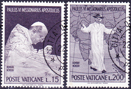 Vatikan - Besuch Papst Pauls VI. In Indien (MiNr. 467/70) 1964 - Gest. Used Obl.