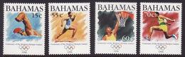 Bahamas #870-73, F-VF Mint NH ** 1996 Atlanta Summer Olympics - Summer 1996: Atlanta