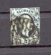 German States Sachsen 1851 No5