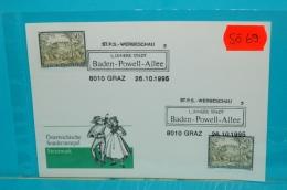 SO0069 Baden-Powell-Allee, Pfadfinder, Graz 1995