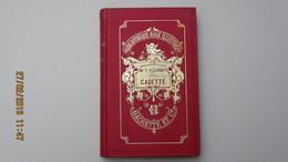 BIBLIOTHEQUE ROSE ILLUSTREE / Mlle Zénaïde FLEURIOT / CADETTE / HACHETTE 1883. - Bibliothèque Rose