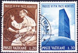 Vatikan - Besuch Des Papstes Bei Der UN (MiNr. 483/6) 1965 - Gest. Used Obl.