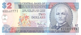 BARBADES   2 Dollars   ND (1999)   P. 54b   UNC - Barbados