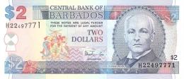 BARBADES   2 Dollars   ND (1999)   P. 54b   UNC - Barbades