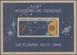 1965.63 CUBA MNH 1965. Ed.1241. EXPOSICION CONQUISTA DEL ESPACIO. SPACE COSMOS NO GUM - Cuba