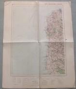 Carte Du S.G.A. N° 3 : BOULOGNE / CALAIS - 1 / 200 000ème. - Topographical Maps