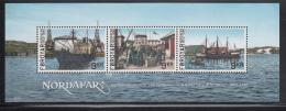 Faroe Islands MNH 2013 Souvenir Sheet Of 3 Fishing - Nordafar - Usines & Industries