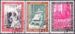Vatikan - Abschluss Des 2. Vatikanischen Konzils (MiNr. 502/7) 1966 - Gest. Used Obl.