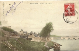 45/Beaugency - Les Bords De La Loire - Ecrite En 1909 - Beaugency