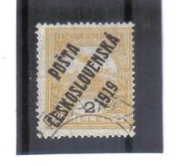 EIL357 TSCHECHOSLOWAKEI 1919 MICHL 105 Used / Gestempelt Siehe ABBILDUNG