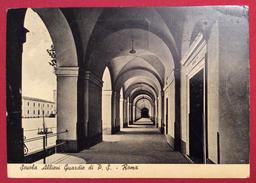 SCUOLA ALLIEVI GUARDIE  DI P.S. ROMA  IL PORTICATO CARTOLINA  ANNULLO MECCANICO FIERA DI VICENZA MOSTRA LANIERA  3/9/52 - 6. 1946-.. Repubblica