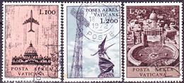 Vatikan - Flugpostmarken (MiNr. 518/22) 1967 - Gest. Used Obl.