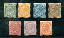 Italie 1863 Victor-Emmanuel II Y&T 14 15 16 18 19 20 21 ** Regommés - 1861-78 Victor Emmanuel II