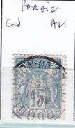 COTES D'ARMOR - S/ 101 - 15c Bleu   Sage - Oblit CAD  A2   (  Pordic ) - Marcophilie (Timbres Détachés)