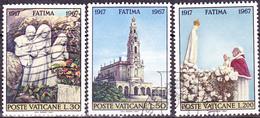 Vatikan - Erscheinung Von Fatima (MiNr. 518/22) 1967 - Gest. Used Obl.