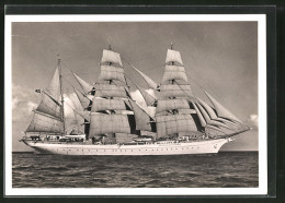 CPA Schulschiff 3 Mastbark Horst Wessel - Guerre