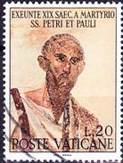 Vatikan - Hl. Petrus (MiNr. 523) 1967 - Gest. Used Obl.