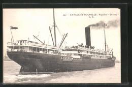 AK La Pallice Rochelle, Passagierschiff Orcoma - Paquebots