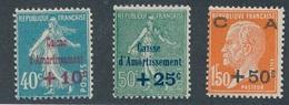 """BA-68: FRANCE: Lot Avec N°246/248** """"caisse D'amortissement"""""""