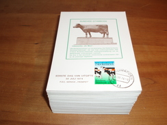 165 St. Trompet Maximumkaarten (1974-1986) - Cartes-Maximum (CM)