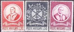 Vatikan - Sankt-Peter-Vereinigung (MiNr. 553/5) 1969 - Gest. Used Obl.