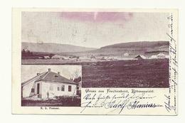 AK Ferchenhaid - Böhmen - Postamt - Um 1905 - Tschechische Republik