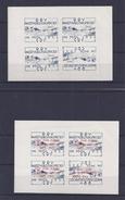Belgie - Belgique E10/11 In  2 Velletjes Van 4 Zegels - ONGETAND - Postfris - Neuf - Erinnophilie
