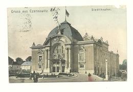 AK Czernowitz - Bukowina - Detail - Gelaufen Um 1905 - Ukraine