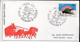 19090 Italia, Special Postmark 1972 Trieste  Trofeo Scolastico,  Pinocchio ! - Italien
