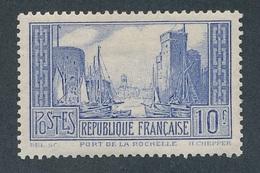 BA-72: FRANCE: Lot Avec N°261b*