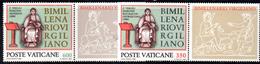 PC592 - VATICANO 1981 , La Serie Con Appendice N. 688/689  ***  MNH :  VIRGILIO