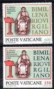 PC586A - VATICANO 1981 , La Serie   N. 688/689  ***  MNH :  VIRGILIO
