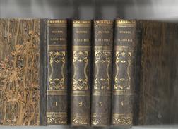 LES VIES DES HOMMES ILLUSTRES PAR PLUTARQUE  TRADUITES PAR RICARD 1843  LES 4 TOMES - Cultuur