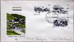 Faroe Islands  1982  MiNr.72-74    FDC    ( Lot  6287  ) MN COVER