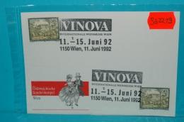 SO2219 VINOVA, Int. Weinmesse, Wein, Wien 1992