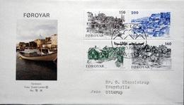 Faroe Islands  1981   MiNr.59-62    Old Torshavn      FDC   ( Lot  6111)