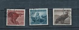 FL - 1947 - 213-215 - JAGDSERIE II - USED - GESTEMPELT - º