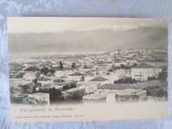 VUE GENERALE DE BEYROUTH . DOS 1900 - Cartes Postales