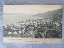 VUE GENERALE DE TIBERIADE . DOS 1900 - Cartes Postales