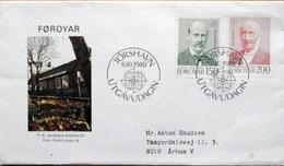 Faroe Islands  1980  EUROPA   MiNr.53-54     FDC   ( Lot  6288)