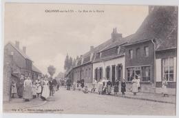 CALONNE-SUR-LA-LYS - La Rue De La Mairie - Otros Municipios