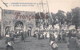 (54) Nancy - Congrès Eucharistique Du 21 Juin 1914 - La Foule Se Rendant à La Fête - 2 SCANS - Nancy