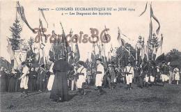 (54) Nancy - Congrès Eucharistique Du 21 Juin 1914 - Les Drapeaux Des Sociétés - 2 SCANS - Nancy