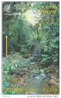 ST. KITTS & NEVIS(GPT) - Tropical Rain Forest, CN : 283CSKA, Tirage 10000, Used