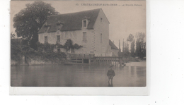CHATEAUNEUF-SUR-CHER - Le Moulin Bateau (très Bon état) - Chateauneuf Sur Cher