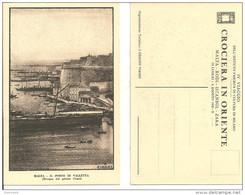 Malta, Il Porto Di Valletta (Pittore Cisari) IV Viaggio Istituto Fascista Di Cultura Di Milano 19/7-3/8 1932-X, Crociera - Malta