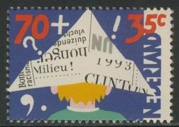 Nederland Netherlands Pays Bas 1993 Mi 1492 A  YT 1456 ** Child And Media / Kind Und Die Medien - Child In Newpaper Hat - Andere