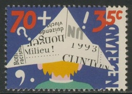 Nederland Netherlands Pays Bas 1993 Mi 1492 A  YT 1456 ** Child And Media / Kind Und Die Medien - Child In Newpaper Hat - Kindertijd & Jeugd