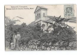 CPA Seychelles Immaculée Conception Roman Catholic Church Victoria Mahé - Seychellen