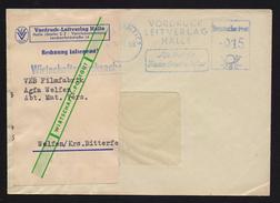 DDR AFS - Vordruck Leitverlag Halle 24.12.59 (83) - DDR